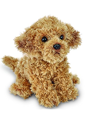 Bearington Doodles Labradoodle Plush Stuffed Animal Puppy Dog, 13""