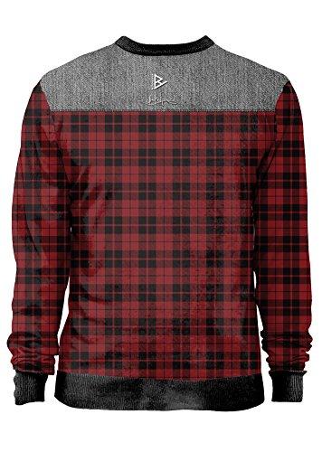 Blowhammer - Sweatshirt Herren- Notjustclassic - Grunge Classic Quadri Größe - small