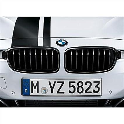 3efe8944c8f Amazon.com  BMW 51712240778 M Performance Gloss Black Kidney Grille for  F30 F31 3 Series  Automotive