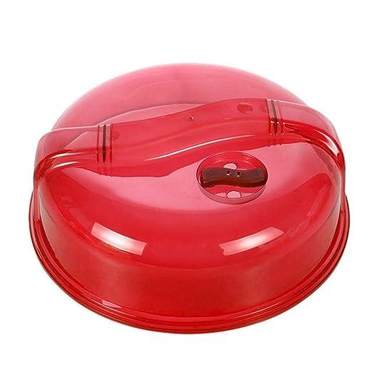 Cubierta de plástico para placa de microondas para horno con ...