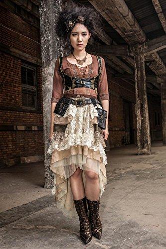 Steampunk/Gothic ROCK LANG - BEIGE