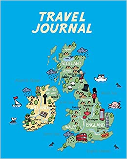 Interactive Map Of Ireland For Kids.Travel Journal Map Of Uk And Ireland Kid S Travel Journal Simple