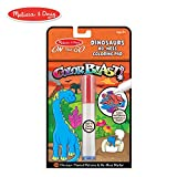 Melissa & Doug On the Go ColorBlast No-Mess Coloring Pad, Dinosaur (24 Color-Reveal Pictures, Invisible Ink Marker)