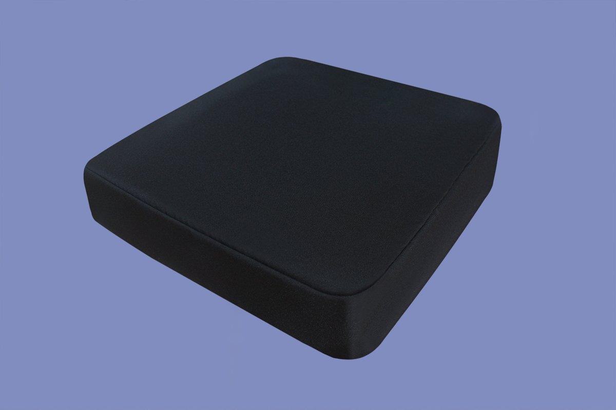 Cojines de espuma de gel/anti-decúbito 52x45x10 cm para silla de ruedas, silla, coche, camión, silla de escritorio, ejecutiva, cojines protectores de ...