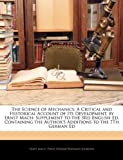 The Science of Mechanics, Ernst Mach and Philip Edward Bertrand Jourdain, 1141497743