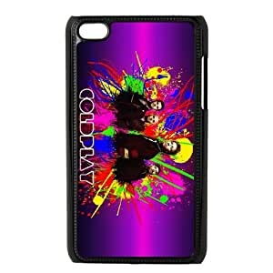 Coldplay iPod Touch 4 Case Black Exquisite designs Phone Case TF7525J5