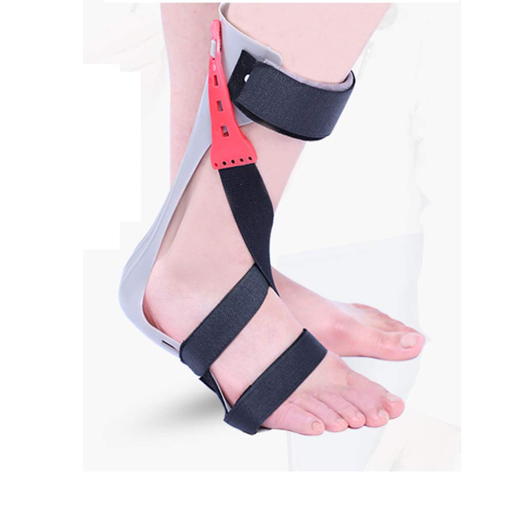 MOXIN Brace Foot Drop Orthosis AFO, Full Length Trimmable Footplate Helps stabilize The Ankle and Maintain a Neutral Foot Position, Nerve Injury Relieve Pressure,Right,M(37to39code) by MOXIN