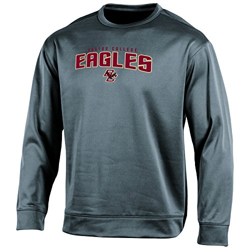 Eagles Grey Performance Hoodie (Champion NCAA Boston College Eagles Adult Men Long sleeve Crew Neck Fle, X-Large, Gray)