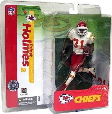 4d3a513e180 Image Unavailable. Image not available for. Color: Priest Holmes 2nd  Edition Kansas City Chiefs White ...