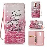 LG Stylo 2 Case, LG Stylo 2 Plus Case, Ranyi [3D Painted Wallet]