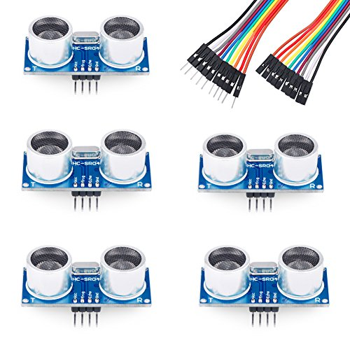 - Emakefun 5PCS HC-SR04 Ultrasonic Module Kit Distance Sensor for Arduino UNO Mega R3 Mega2560 Nano Duemilanove Nano Raspberry Pi 3 Robot