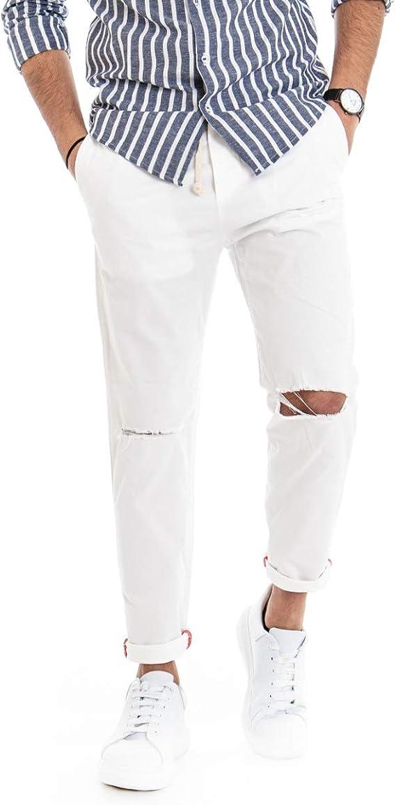Giosal Outfit - Conjunto de camisa a rayas para hombre ...
