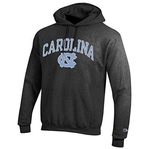 Elite Fan Shop North Carolina Tar Heels Hooded Sweatshirt Varsity Charcoal - XL