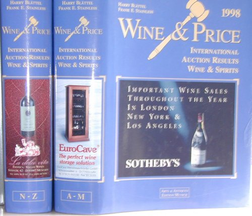 Wine & Price 1998 by Harry Blattel