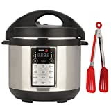 Fagor LUX Electric Multi Cooker (4 qt, Silver) w/ 8-inch Nylon...