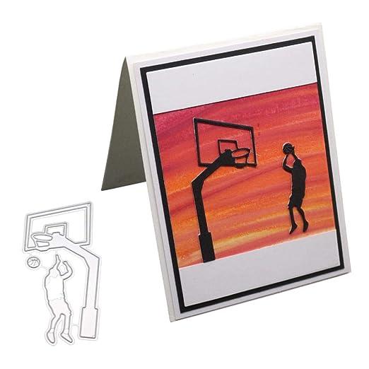 P12cheng troqueles de corte de metal, juego de baloncesto ...