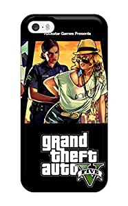 CaseyKBrown Scratch-free Phone Case For Iphone 5/5s- Retail Packaging - Grand Theft Auto V 2013 Game