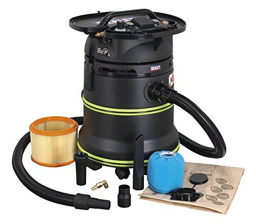 vacuum cleaner industrial dust-free wet & dry 35ltr 1000w/230v plastic drum m cl