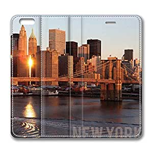 Brian11iphone 6 4.7 iphone 6 4.7 Case - City New York 3 Back Case Cover for iphone 6 4.7 Leather Cases