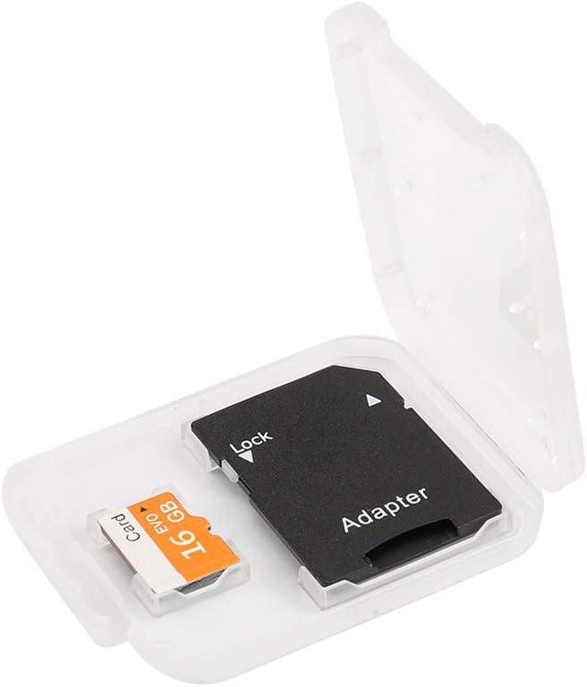 Walmeck Memory Card 8GB//16GB//32GB//64GB//128GB Large Capacity Class 10 TF Card Flash TF Card with TF Card Adapter Data Storage