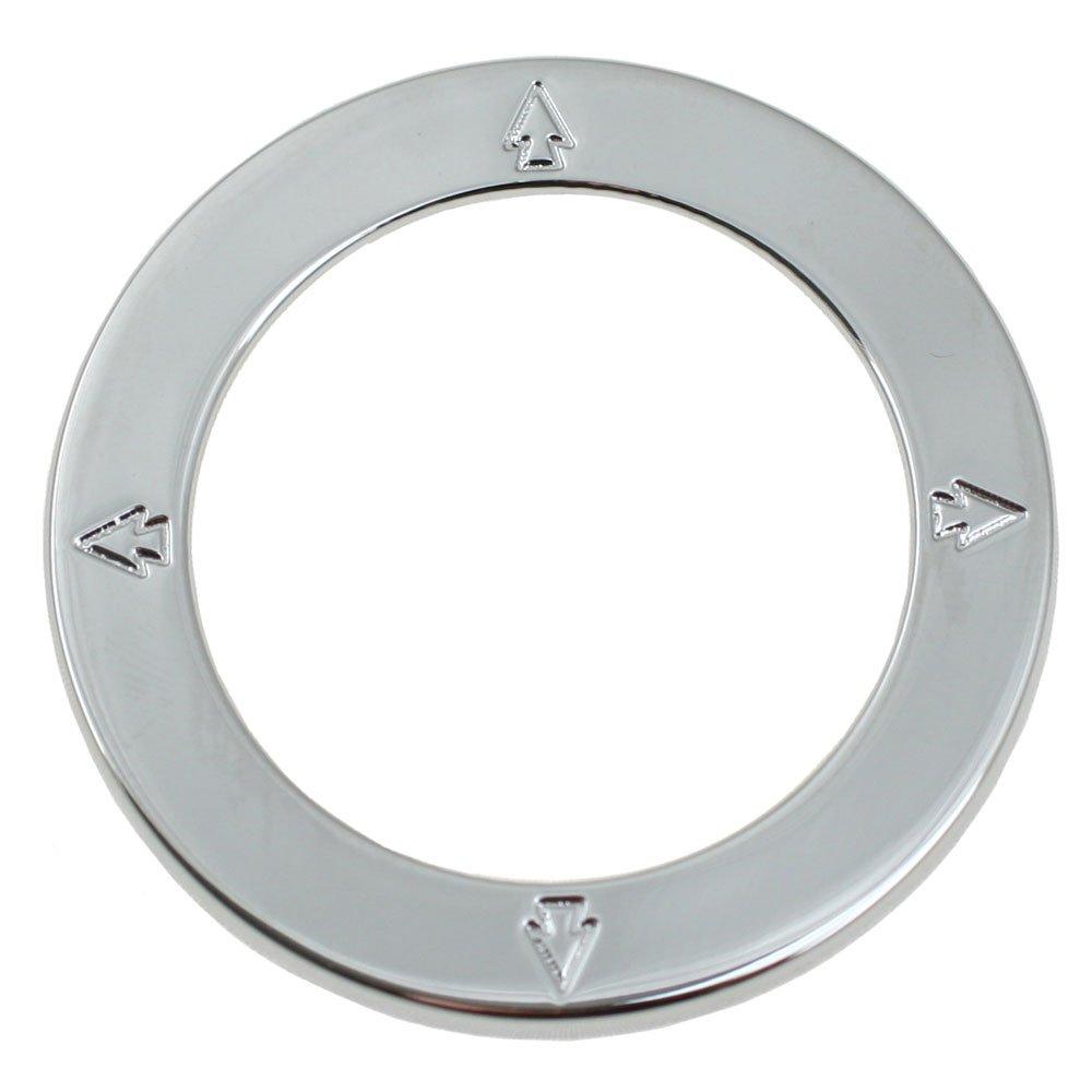 2005-2014 Mustang Chrome Mirror Adjustment Trim Bezel Ring
