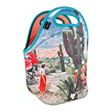 ART OF LUNCH Isulated Neoprene Lunch Bag for Women and Kids, Reusable Soft Lunch Tote for Work and School - Design by Sarah Eisenlohr (USA) - Decor