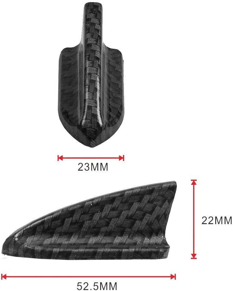 Tasan Racing Universal 10Pcs//Set Front Bumper Lip Splitter Shark Fins Spoiler Wing Kit Air Vortex Generator Black