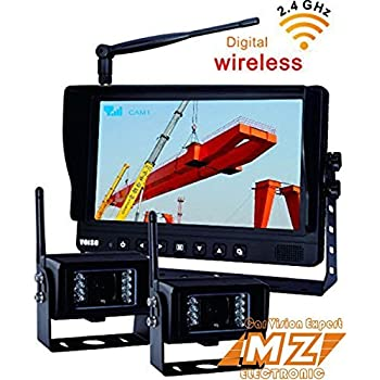Amazon Com No Interference Digital Wireless Rear View