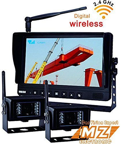 - No Interference Digital Wireless Rear View Backup Camera System, 9