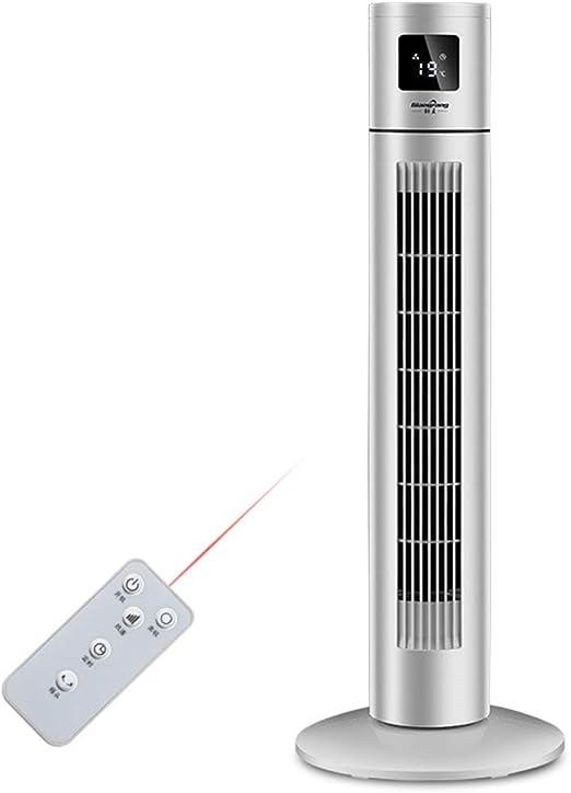 Ventilador eléctrico de torre, control remoto ventilador de tres ...