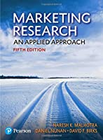 Marketing Research: An Applied Approach, 5th Edition Front Cover