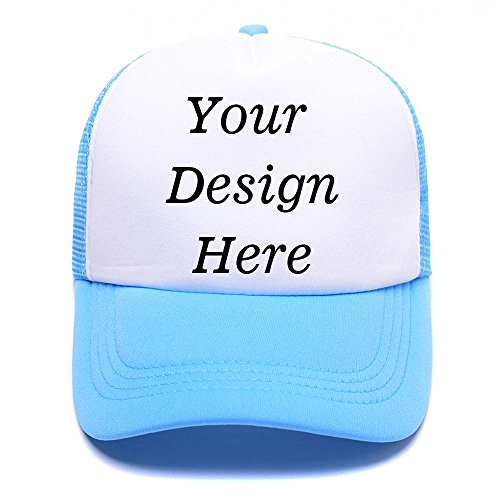 RR&DDXU Customize Your Own Design Text, Photos, Image Logo Adjustable Hat Hiphop Hat Baseball Cap]()