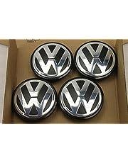 4 stuks originele VW Golf Passat Touran 3B7601171 naafdop voor aluminium velgen FA2311
