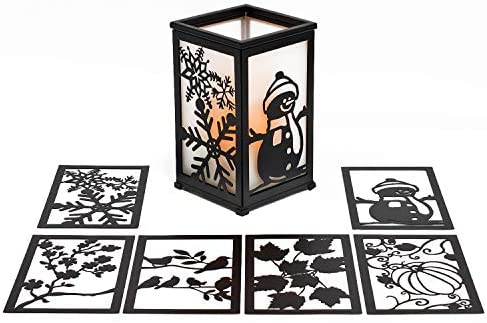 home, kitchen, home décor, candles, holders, candleholders,  decorative candle lanterns 12 on sale GiveU Decorative Led Candle Lantern with Timer Rustic deals