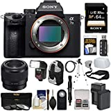 Sony Alpha A7 III 4K Digital Camera Body with FE 50mm f/1.8 Lens + 64GB Card + Battery & Charger + Backpack + 3 Filters + Flash + Tripod + Strap + Kit Review