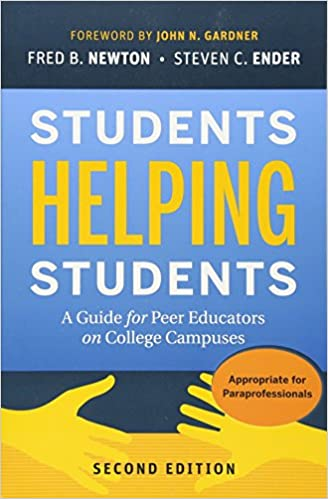 amazon com students helping students a guide for peer educators on