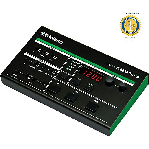 Roland AIRA SBX-1 Sync Box with 1 Year Free Extended Warranty - Roland Tb 3