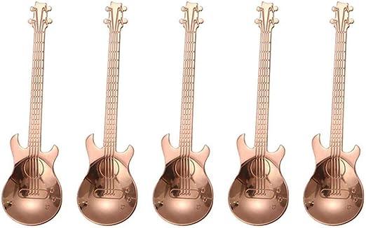 FOONEE Juego de cucharas para Guitarra, 4,7 Pulgadas, Acero ...