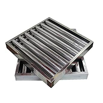 Filtro campana extractora bar industrial 490 x 490 x 50 mm.: Amazon.es: Industria, empresas y ciencia