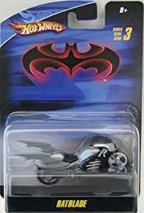 Amazon Com Hot Wheels Batman Batblade Motorcycle Series 3