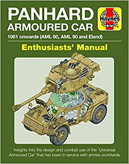 Panhard AML and Eland Enthusiasts' Manual: 1961 Onwards (AML 60 and