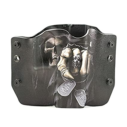 Grim Reaper Kydex OWB holsters for more than 125 different handguns  Left &  Right versions plus Speed Clips available