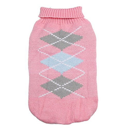 [Pet Sweater,Haoricu autumn Stylish Pet Dog Warm Clothes For Small Dogs Sweater Puppy Jumpsuit Costume (M,] (Warm Costumes)