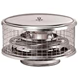Suncoast Chimney Cap Round Air Cooled 8 inch Stainless Steel