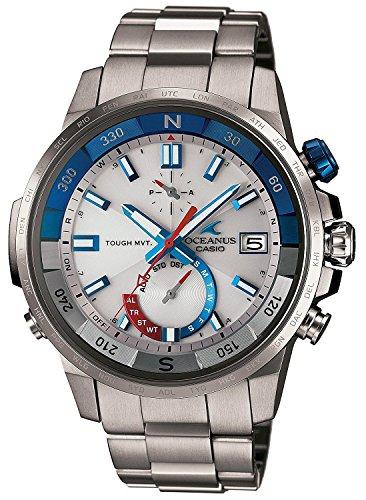 CASIO watch OCEANUS CACHALOT compass mounted Solar radio OCW-P1000-7AJF Men