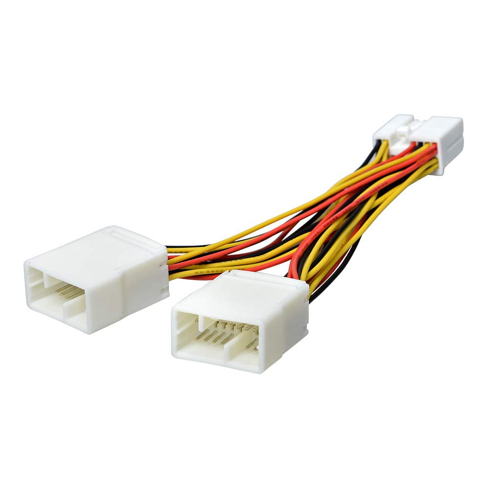 fit 03-14 honda car stereo wire harness adapter cable for nagivation  device/cd changer aux-in input- buy online in united arab emirates at  desertcart.ae. productid : 18354136.  desertcart