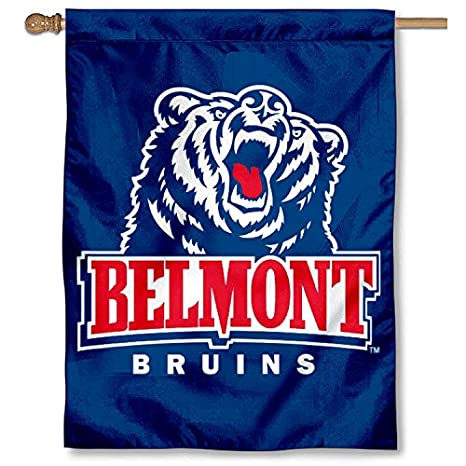 Amazon com : College Flags and Banners Co  Belmont Banner