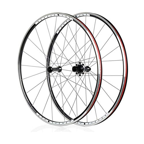YXYH 700C Carbon Racing, Double Wall Quick Release Disc Rim Brake 7 Speed Sealed Bearings Hub Shimano Sram