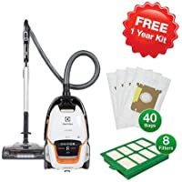Electrolux EL7085B UltraOne Deluxe Canister Vacuum with Vacuum Bag and Filter Kit