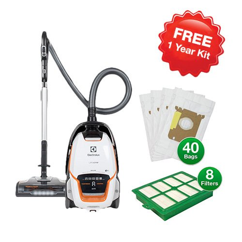 Vacuums Hard Floor Electrolux (Electrolux EL7085B UltraOne Deluxe Canister Vacuum with Vacuum Bag and Filter Kit)
